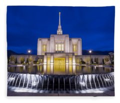 Ogden Temple II Fleece Blanket
