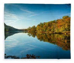Ogle Lake Fleece Blanket