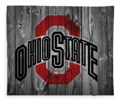 Ohio State University Fleece Blanket