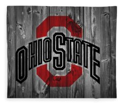 Ohio State University Fleece Blanket