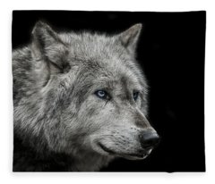 Old Blue Eyes Fleece Blanket