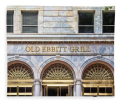 Old Ebbitt Grill Fleece Blanket