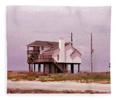 Old Galveston Fleece Blanket