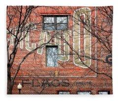 Old Market - Omaha - Metz Building - #2 Fleece Blanket