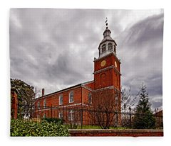 Old Otterbein Country Church Fleece Blanket