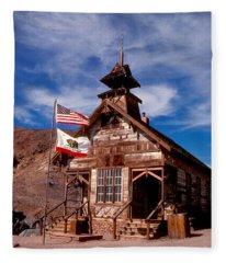Old West School Days Fleece Blanket