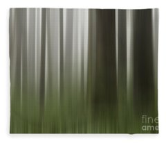 Olympic Trees Fleece Blanket