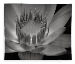 Om Mani Padme Hum Hail To The Jewel In The Lotus Fleece Blanket