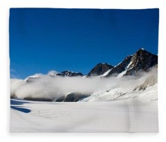 On Fox Glacier Fleece Blanket
