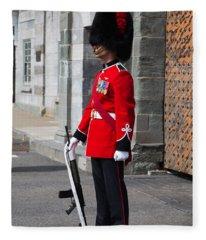 On Guard Quebec City Fleece Blanket
