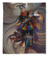 On Sacred Ground Series II Fleece Blanket