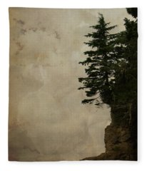 On The Edge Fleece Blanket
