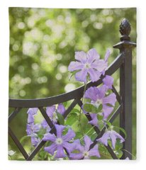 On The Fence Fleece Blanket