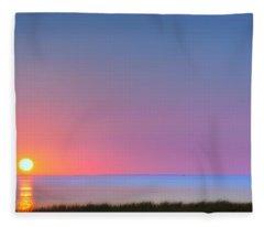 On The Water Fleece Blanket