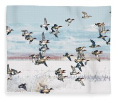 On The Wing Fleece Blanket