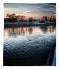 One By Air One By Sea Fleece Blanket