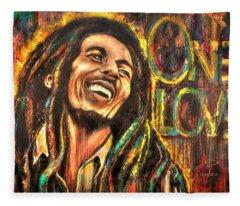 Bob Marley - One Love Fleece Blanket