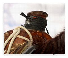Open Range Saddle Fleece Blanket