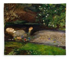 Ophelia  Fleece Blanket