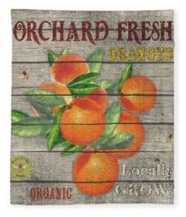 Oranges-jp2677 Fleece Blanket