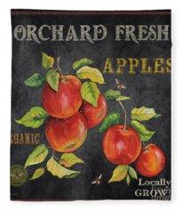 Orchard Fresh Apples-jp2638 Fleece Blanket