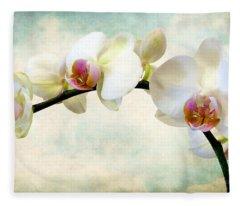 Orchid Heaven Fleece Blanket