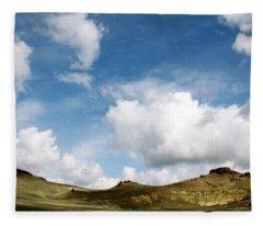 Oregon Trail Country Fleece Blanket