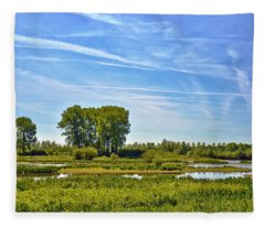 Ossenwaard Near Deventer Fleece Blanket