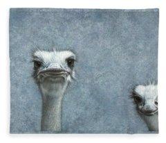 Ostrich Fleece Blankets