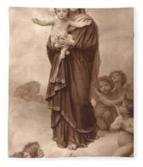 Our Lady Of The Angels Fleece Blanket