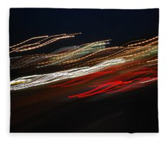 Out Of Control Fleece Blanket