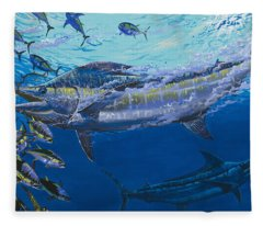 Out Of The Blue Off009 Fleece Blanket