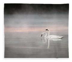 Out Of The Mist Fleece Blanket