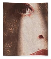 Out Of The Shadow Fleece Blanket