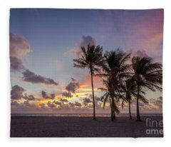 Out Of The Sky Came The Lights Fleece Blanket
