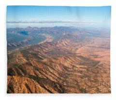 Outback Ranges Fleece Blanket