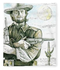 Outlaw Josey Wales Fleece Blanket