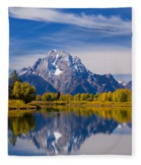 Oxbow Bend Fleece Blanket