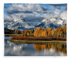 Oxbow Morning Fleece Blanket