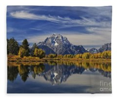 Oxbow Reflections Fleece Blanket