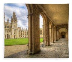 Oxford University - All Souls College 2.0 Fleece Blanket