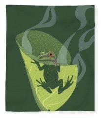 Amphibians Fleece Blankets
