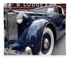 Packard 1207 Convertible 1935 Fleece Blanket