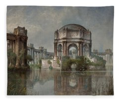 Palace Of Fine Arts And The Lagoon Fleece Blanket