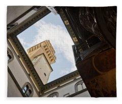 Palazzo Vecchio Fleece Blanket