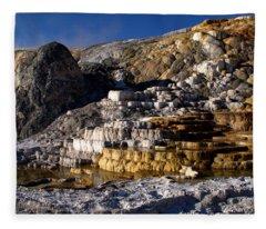 Palette Spring Terrace Fleece Blanket