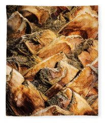 Palm Bark Fleece Blanket