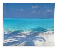 Palm Escape Fleece Blanket
