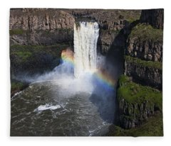 Palouse Falls Fleece Blanket