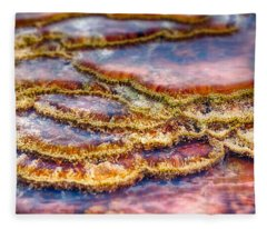 Pancakes Hot Springs Fleece Blanket